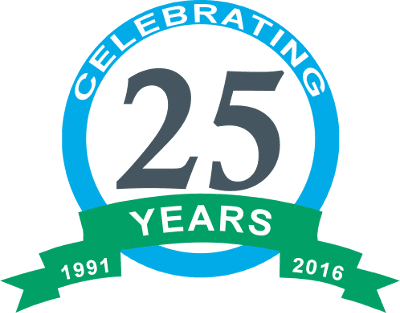 Insight Software 25 Years Logo