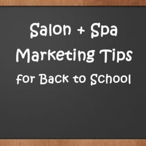 Marketing Tips for Back to School