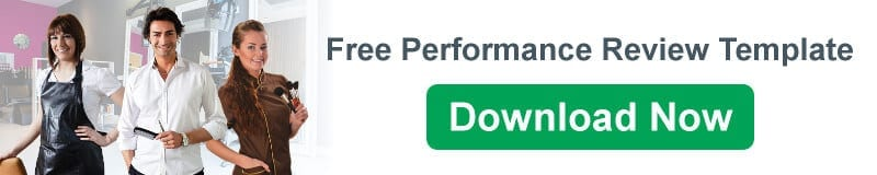 Free Download - Performance Review Template for Salons & Spas