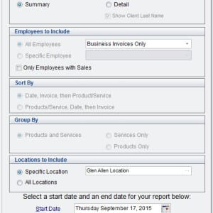 Employee Sales Summary _Detail Report