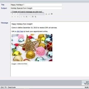 Salon Marketing spa marketing tanning marketing email marketing