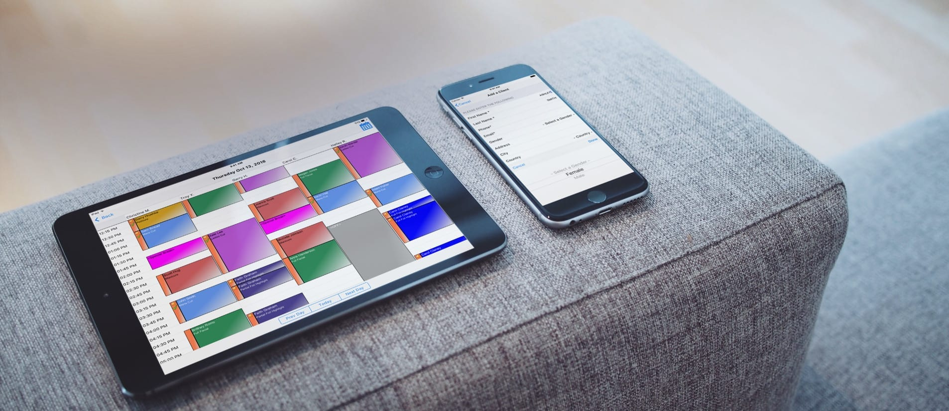 Insight Phone and Tablet Apps for Salons