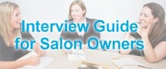 Interview Guide for Salon Owners
