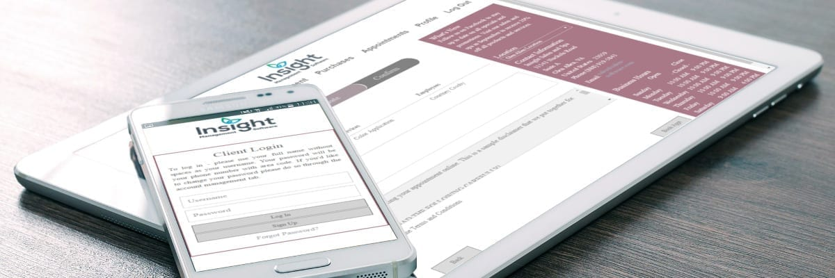 Insight Online Appointment Scheduling