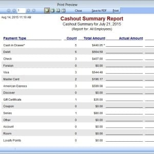 Insight Salon Spa Software Reporting Features