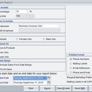 Top Client Report