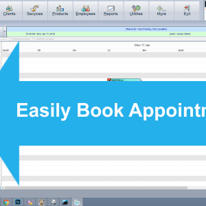Easily book appointments