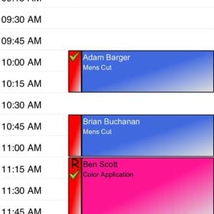 iphone appointment book online salon appointment book mobile apps